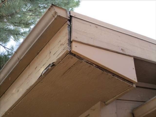 Beautiful A Homeu0027s Soffit And Fascia Are Vulnerable To Water Damage And Rot.  Malfunctioning Gutters And Improper Installation Can Lead To Costly Damage  And Eventually ...